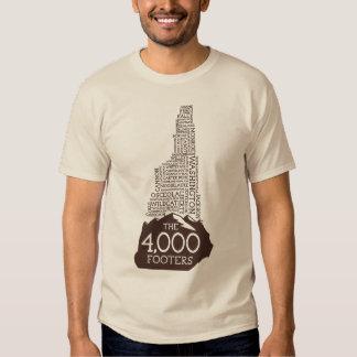 Camiseta de los pies de página del NH 4000 Polera