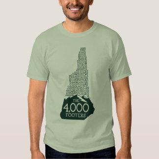 Camiseta de los pies de página del NH 4000 Remeras