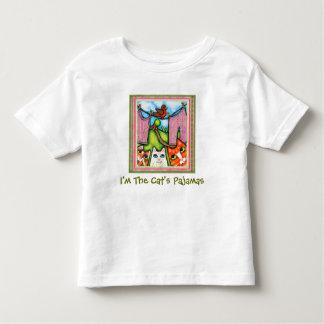 Camiseta de los pijamas del gato