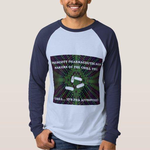 Camiseta de los productos farmacéuticos del remeras