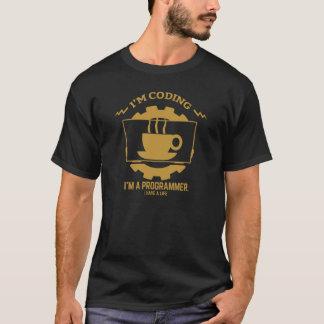 camiseta de los programadores: estoy cifrando