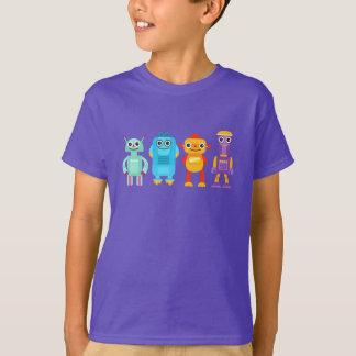Camiseta de los robots