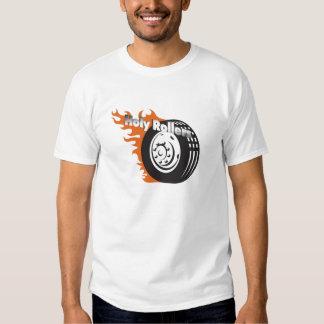 Camiseta de los rodillos santos camisas