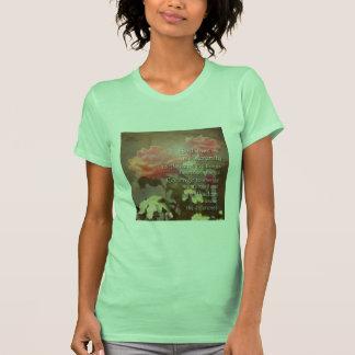 Camiseta de los rosas de la recuperación playera