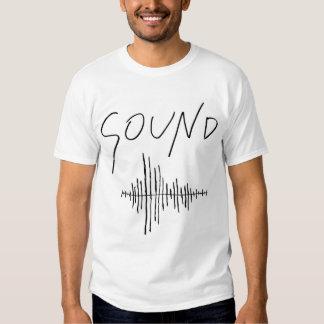 Camiseta de los sonidos polera