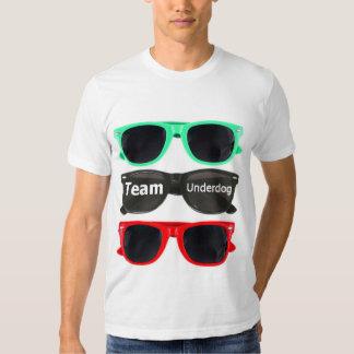 Camiseta de los sunglass del oprimido del equipo - playera