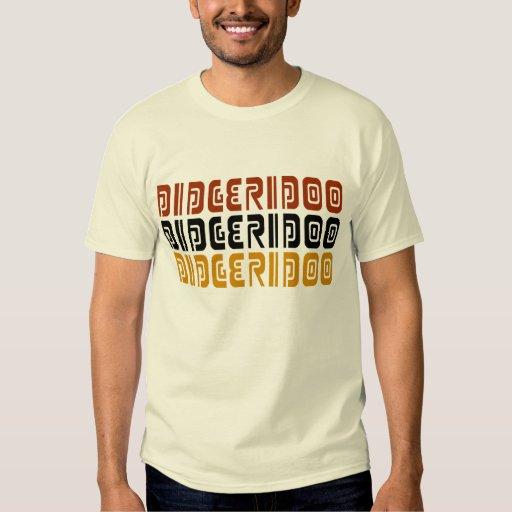 Camiseta de los triples de Digeridoo Poleras