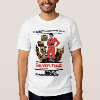 """""""Camiseta de los viajes de Gulliver"""" Playera"""