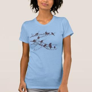 Camiseta de los Waxwings de cedro Playeras