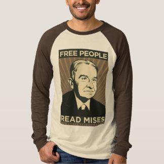 Camiseta de Ludwig von Mises Poleras