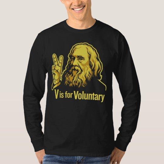 Camiseta de Lysander Spooner Voluntaryism