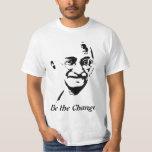 Camiseta de Mahatma Gandhi Playeras