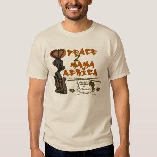 Camiseta de mamá África de Brown Remera