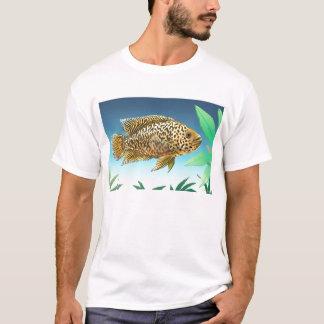 Camiseta de Managuense del Cichlid de Jaguar