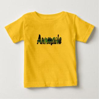 Camiseta de manga corta amarilla de Annmarie Playera
