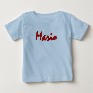 Camiseta de manga corta azul clara para Mario Polera