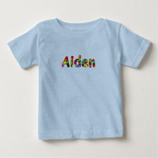 Camiseta de manga corta de Aiden en azul