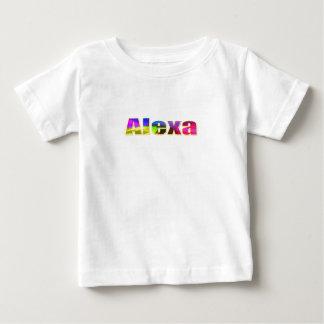 Camiseta de manga corta de Alexa