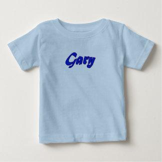 Camiseta de manga corta de Gary en azul Camisas
