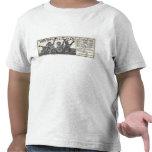 Camiseta de manga corta de la luz del niño del anu
