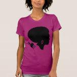 Camiseta de manga corta de la MUJER del AFRO (PODE