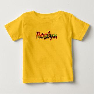 Camiseta de manga corta de Roslyn en amarillo Remera