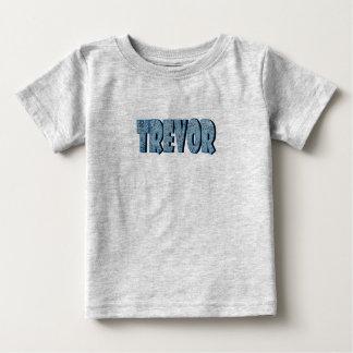 Camiseta de manga corta del gris de Trevor Remera