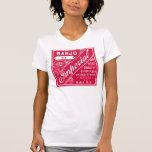 Camiseta de manga corta ligera de las señoras