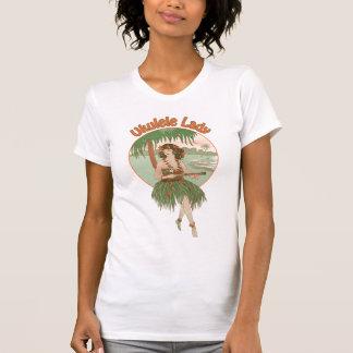 Camiseta de manga corta ligera de las señoras de remera