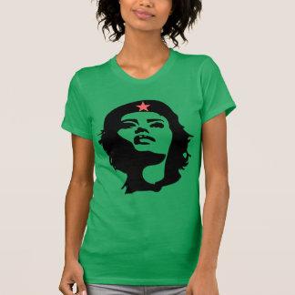 Camiseta de manga corta REVOLUCIONARIA de la MUJER Poleras