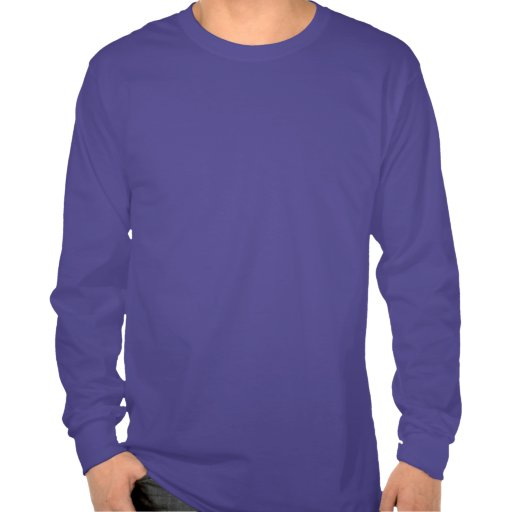 Camiseta de manga larga del empollón del pájaro