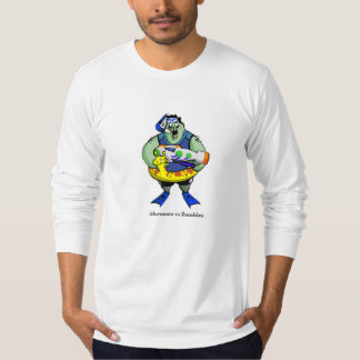 Camiseta de manga larga del zombi de MvZ Waterpark Playeras