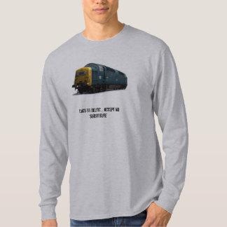 Camiseta de manga larga déltica 'ningún substitute remeras