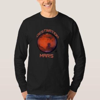 Camiseta de Marte del destino - jersey envuelto