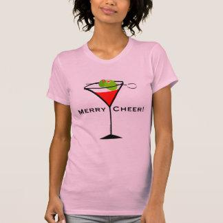 Camiseta de Martini del navidad
