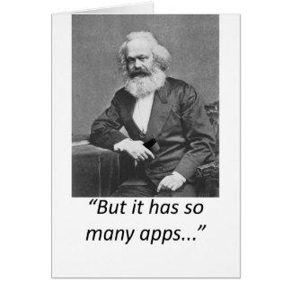 Camiseta de Marx Smartphone Apps Felicitaciones