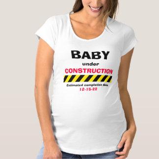 Camiseta de maternidad de las mujeres del embarazo playera
