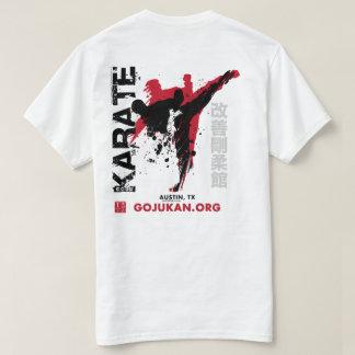 Camiseta de Mawashi del karate del Grunge (TX) -