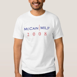 Camiseta de McCain/MILF Poleras