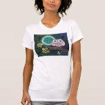 Camiseta de medianoche del búho