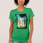 Camiseta de Meerkat, paseo de la familia