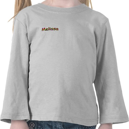 Camiseta de Melissa para los chicas