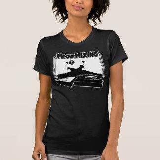 Camiseta de MEZCLA del maullido
