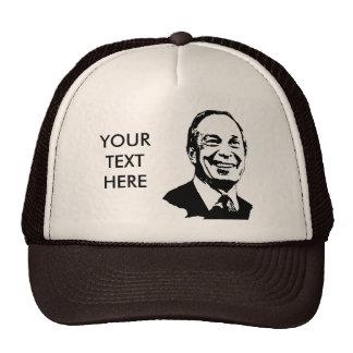 Camiseta de Michael Bloomberg Gorros Bordados
