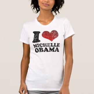 Camiseta de Michelle Obama del amor-corazón I