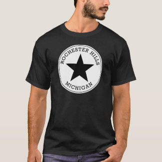 Camiseta de Michigan de las colinas de Rochester