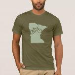 Camiseta de Minnesota de la bicicleta