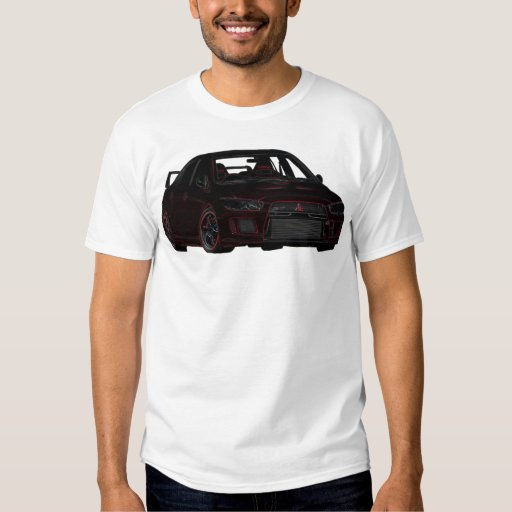 Camiseta de Mitsubishi Evo Playeras