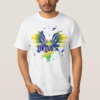 Camiseta de Mitzvah de la barra de la salpicadura Camisas