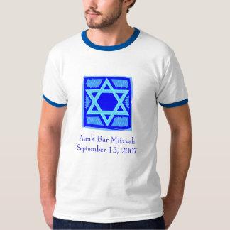 Camiseta de Mitzvah de la barra/del palo Polera